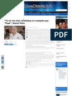 """29-05-2013 """"Yo no veo más candidatos en campaña que """"Pepe"""""""