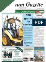 Platinum Gazette 31 May 2013