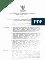 PMK - 10.PMK03.2013 Tg Tata Cara Pengembalian Atas Kelebihan Pembayaran Pajak