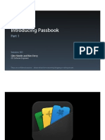 Session 301 - Introducing Passbook, Part 1