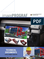 Product Brochure for the iPF825 & the iPF815