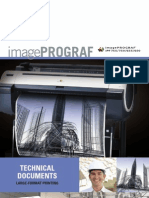Product Brochure for the iPF755, iPF750, iPF655, & iPF650