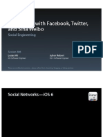 Session 306 - Integrating With Facebook, Twitter and Sina Weibo