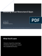 Session 307 - Building Great Newsstand Apps