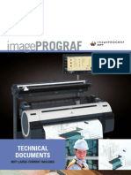 Product Brochure for the imagePROGRAF MFP Series