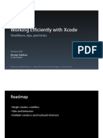 Session 402 - Working Efficiently With Xcode