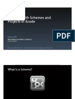 Session 408 - Working With Schemes and Projects in Xcode