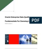 EDQ Fundamentals for Demoing Lab v9.0