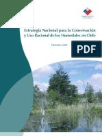 Estrategia Nacional Conservacion Humedales