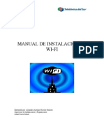 Manual de Instalacion de Redes Wifi