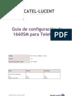 Guía de configuración de 1660SM para Telefónica