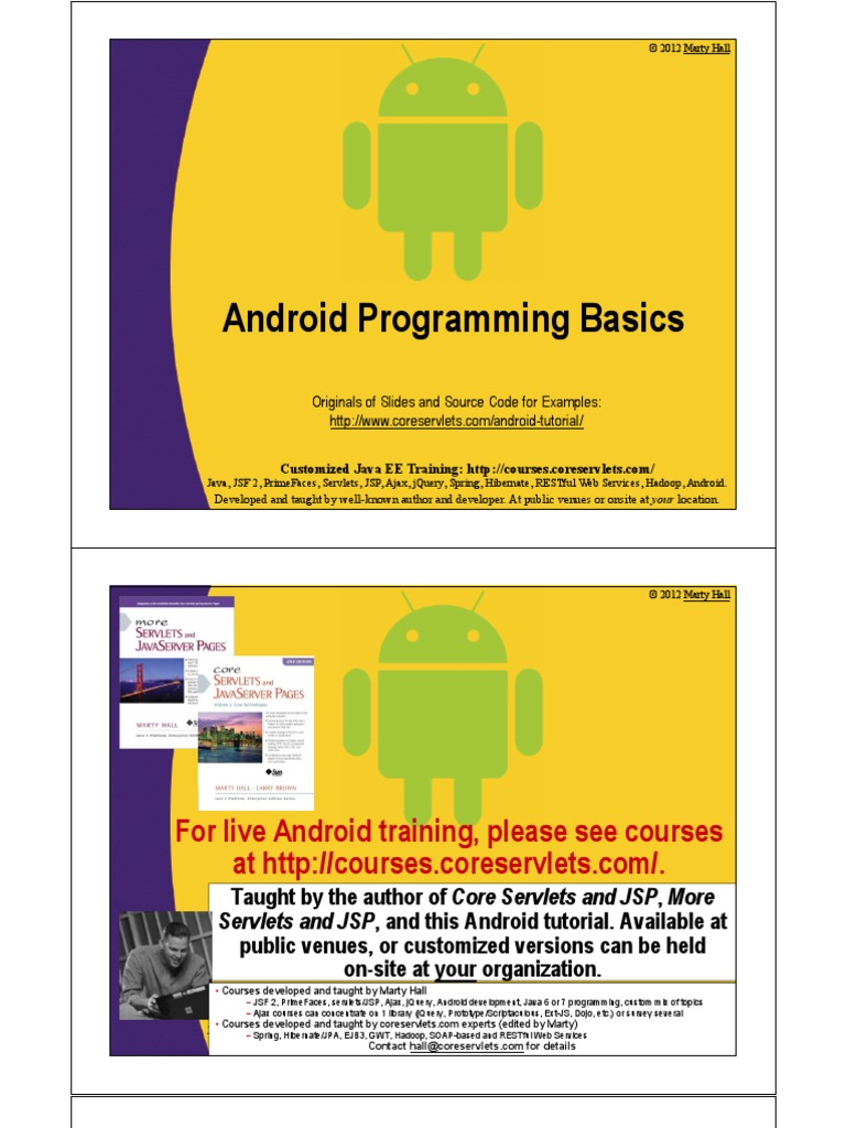 Android programming basics eclipse software java servlet baditri Gallery