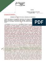 SERIATE -aprile 2013 Ordine del giorno ad oggetto