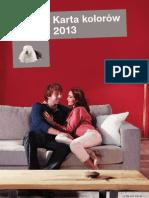 Dulux Karta Kolorów 2013