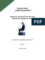 Mudulo Comunicacion y Archivo