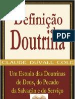 Definição de Doutrina - Claude Duvall Cole