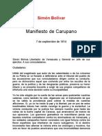 Manifiesto de Carupano