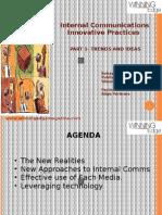 Innovation In Internal Comm Part2