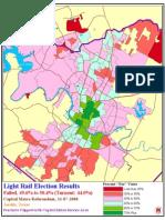 2000 Austin Capital Metro Light Rail Election Results