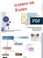 Clase Equilibrio de Fases 2011-2