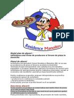 Model Plan de Afaceri Pizza 2