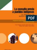 La consulta previa a pueblos indigenas Estándares Internacionales