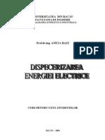 Dispecerizarea Energiei Electrice - Curs