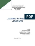 Sistemas de Presion Constante Para Imprimir