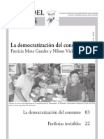 La Democratizacion Del Consumo- Patricia Mota Guedes y Nilson Vieira Olivera