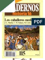 Cuadernos de Historia 16 - 115 - Los Caballeros Medievales