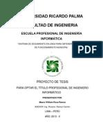 Plan de Tesis 2013 II