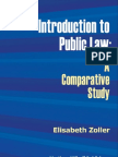 Elisabeth Zoller. Introduction to Public Law