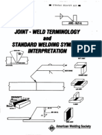 Joint Weld Terminology