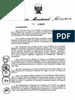 Directiva Para Concurso de Directores 2013
