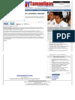 19-05-2013 Hará campaña por la educación, candidato a diputado del PANAL por Reynosa