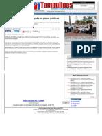 20-05-2013 Inició Rogelio Ortiz Mar campaña en plazas públicas de Reynosa