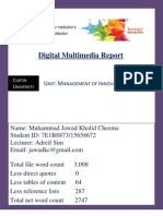 Kanopy Digital Multimedia Report
