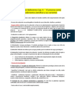 Fernández Ballesteros Cap. II ´´ El proceso como procedimiento científico y sus variantes
