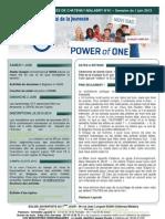 Bulletin d'annonces N°61 semaine du 1 juin 2013