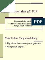 Pengenalan uC 8051