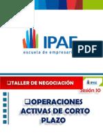 Ipae Curso Taller de Negociacion Sesion 10 Diciembre 2012