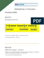 18 - COLOCAÇÃO PRONOMINAL E TOPOLOGIA PRONOMINAL