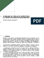 N. Georgescu-Roegen - O Impasse da Inflação Estrutural e o Desenvolvimento Equilibrado (1970)