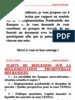 Master Banque & Finance Ism 2006 Sujets de Reflexion [1]