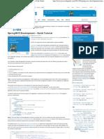 Spring MVC Development – Quick Tutorial _ Java Code Geeks