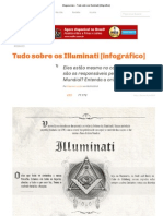 Megacurioso - Tudo sobre os Illuminati [infográfico]