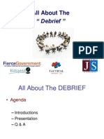 Strategies for Debriefs - Government Contracting
