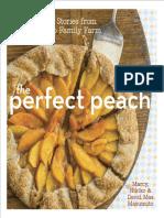 Recipes from The Perfect Peach by Marcy, Nikiko, and David Mas Masumoto,