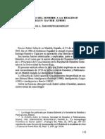 6. EL ACCESO DEL HOMBRE A LA REALIDAD SEGÚN XAVIER ZUBIRI, FANNIE A. SIMONPIETRI MONEFELDT