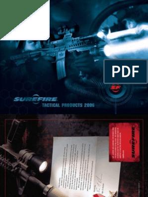 Surefire 2006 Tactical Products Catalog   Incandescent Light